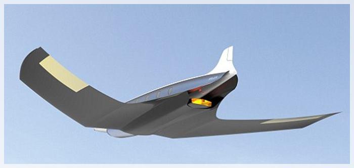 avión supersonico antipoda