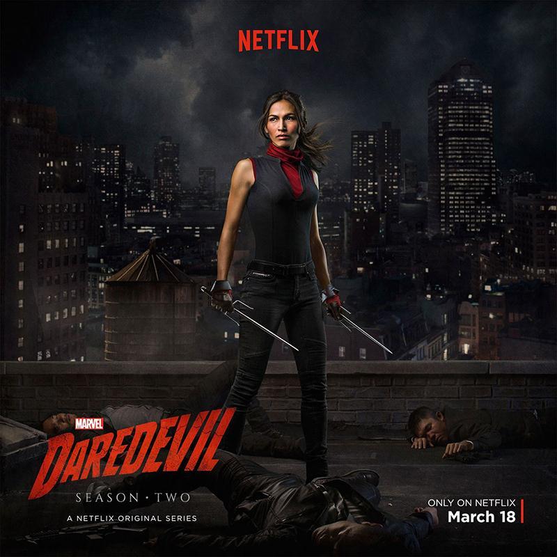 Daredevil temporada 2 Netflix lanza segundo trailer - Elektra - Cartel