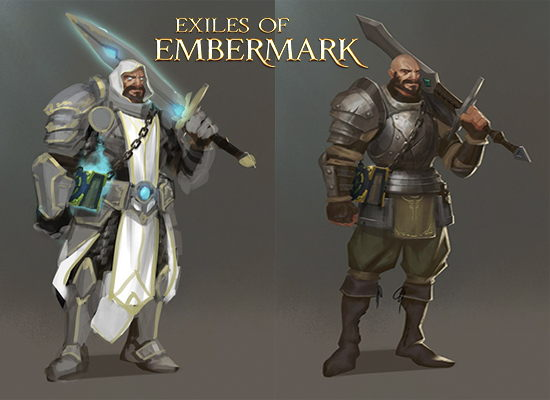 exiles of embermark juego