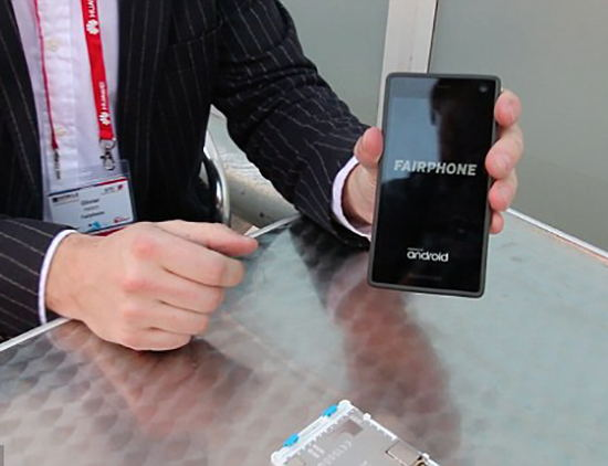 Fairphone 2 movil desmontable