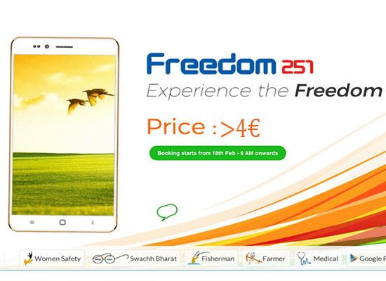 freedom 251 4 euros