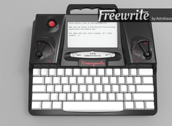 freewrite maquina de escribir