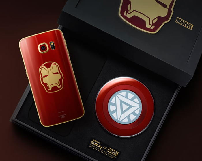 GALAXY S6 EDICION IRON MAN