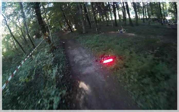 la liga de las carreras de drones