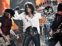 Hollywood vampires homenaje a lemmy kilmister