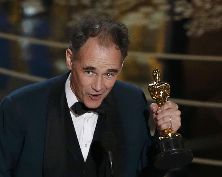 Premios Oscar 2016 - Mark Rylance ganador del Oscar al Mejor Actor de Reparto