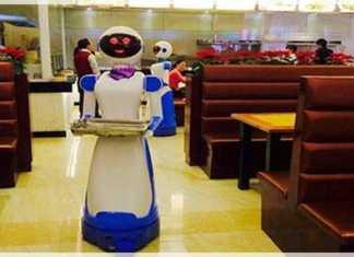 robots trabajadores autómatas