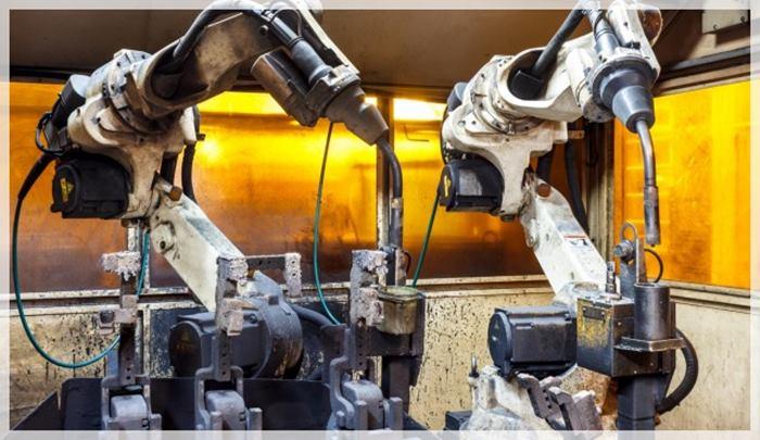 robots trabajadores tercera revolución idustrial