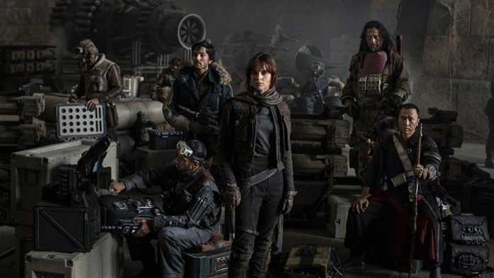 Rogue One - A Star Wars Story primer  spin-of de la Saga de Star Wars
