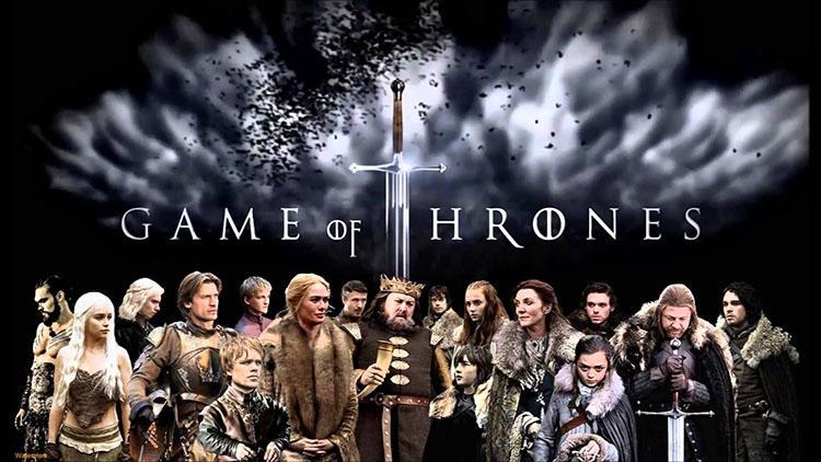 Top 10 mejores series dramaticas para la televisión - Ranking 2 Juego de Tronos