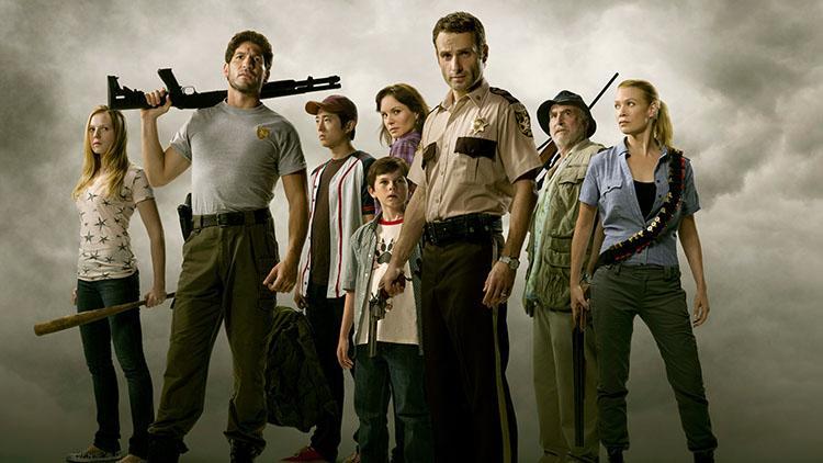 Top 10 mejores series dramaticas para la televisión - Ranking 4 The Walking Dead