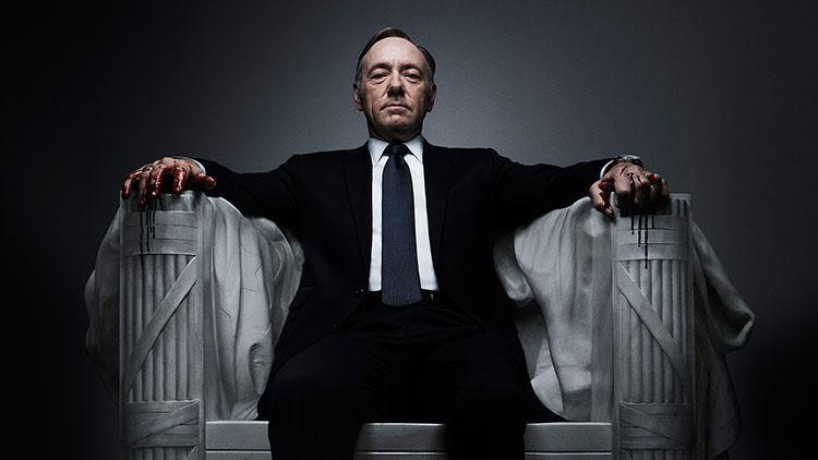 Top 10 mejores series dramaticas para la televisión - Ranking 7 House of Cards