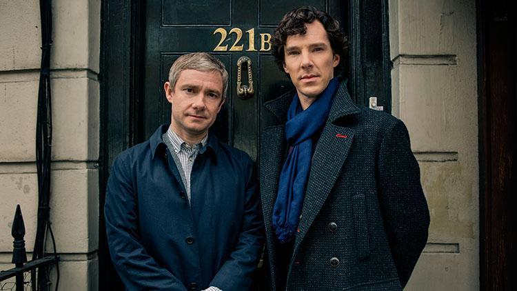 Top 10 mejores series dramaticas para la televisión - Ranking 8 Sherlock