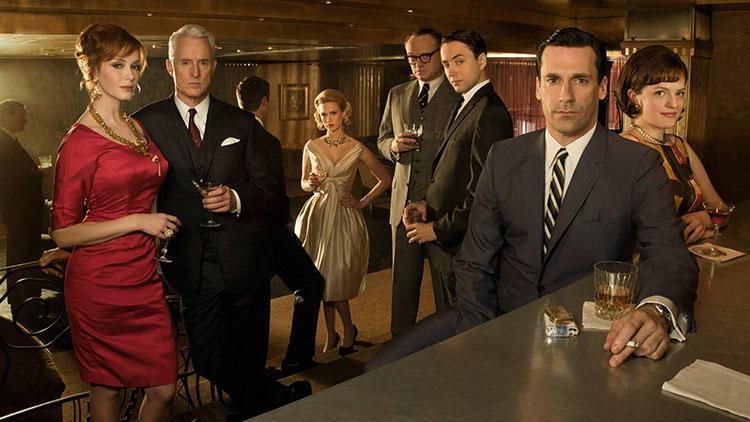 Top 10 mejores series dramaticas para la televisión - Ranking 9 Mad Men