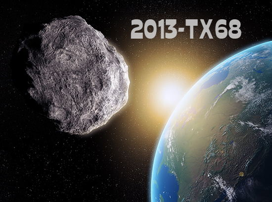 2013-TX68 asteroide