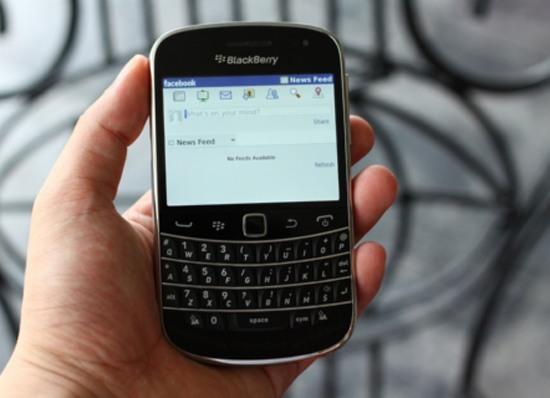facebook blackberry