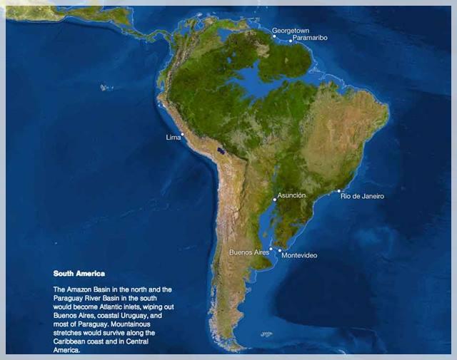 efectos del calentamiento global en la subida del nivel del mar