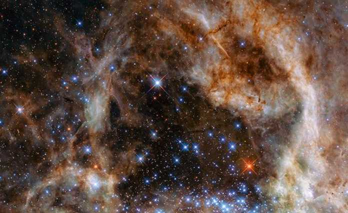 El telescopio Hubble descubre 9 estrellas monstruosas