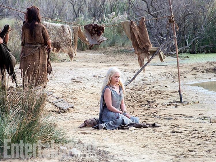 Nuevas imagenes de la temporada 6 de Juego de Tronos - Daenerys (Emilia Clarke)
