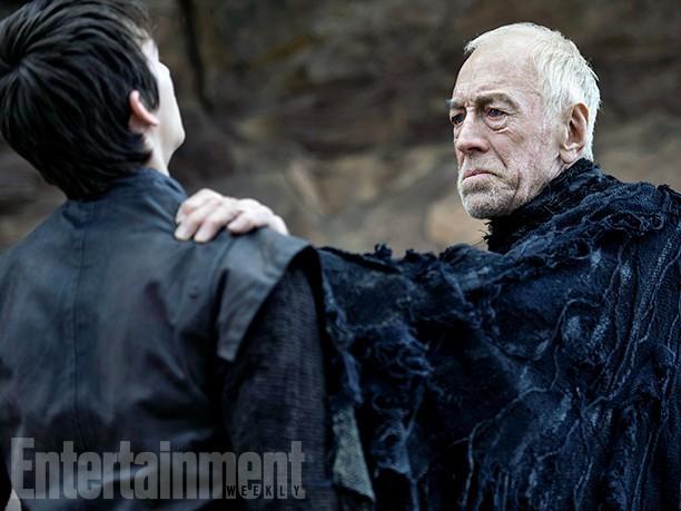 Nuevas imagenes de la temporada 6 de Juego de Tronos - Three-Eyed Raven (Max Von Sydow)