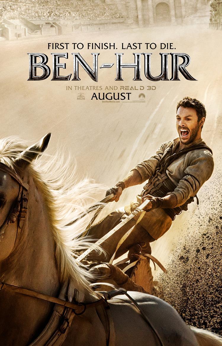 Primer trailer de la nueva adaptacion de Ben-Hur - Poster