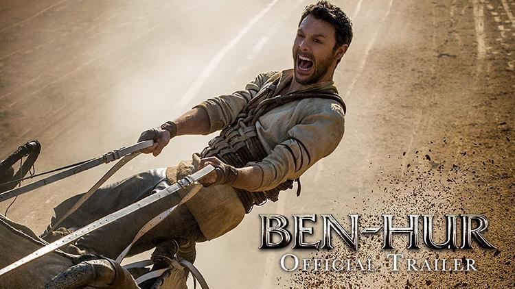 Primer trailer de la nueva adaptacion de Ben-Hur