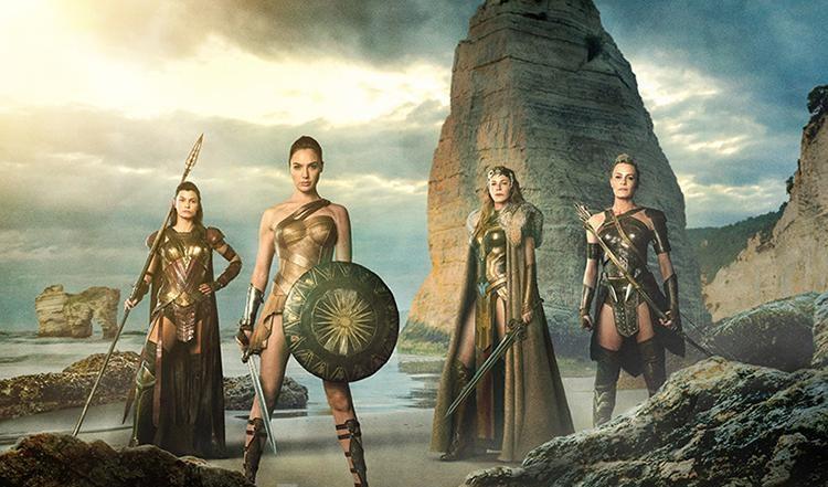 Primera imagen de las Amazonas en Wonder Woman