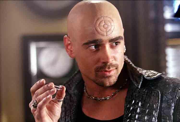 Primeros detalles sobre la temporada 3 de Daredevil - Colin Farrell como Bullseye en Daredevil 2003
