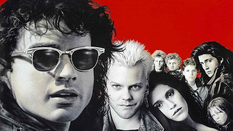 Top 100 mejores peliculas de vampiros de la Historia - 17 - Jovenes Ocultos 1987