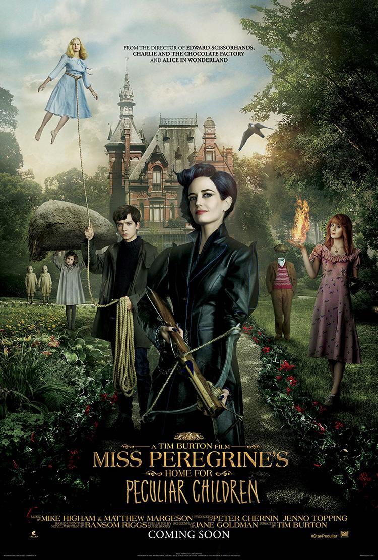 Trailer de El hogar de Miss Peregrine para jóvenes peculiares - Poster