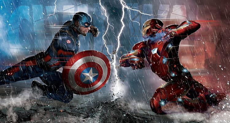 Calendario de producciones de Marvel, DC y Fox hasta el 2020 - 1 Capitán América Civil War 29 de Abril de 2016