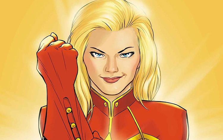 Calendario de producciones de Marvel, DC y Fox hasta el 2020 - 16 Captain Marvel 8 de Marzo de 2019 (USA)