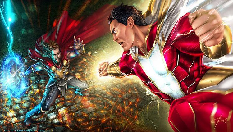 Calendario de producciones de Marvel, DC y Fox hasta el 2020 - 17 Shazam! 5 de Abril 2019