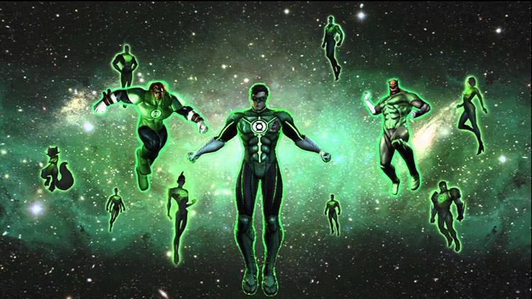 Calendario de producciones de Marvel, DC y Fox hasta el 2020 - 22 Green Lantern Corps 19 de Junio de 2020