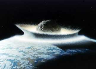 Científicos del SLAC recrean el Universo extremo en un laboratorio - Impacto de meteorito