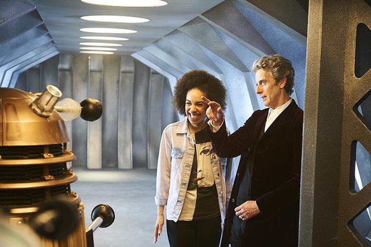 Doctor Who temporada 10 nueva compañera es Pearl Mackie como Bill