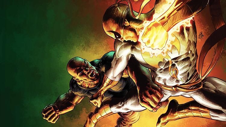 Primer vistazo al actor Finn Jones como Iron Fist
