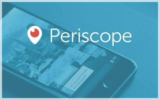aplicacion periscope