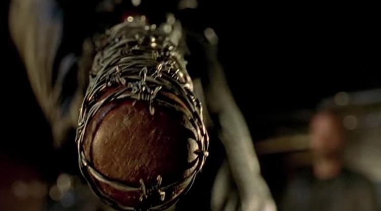 Llega Negan al último episodio de la temporada 6 de The Walking Dead , en la imagen el bate de Negan conocido como Lucille