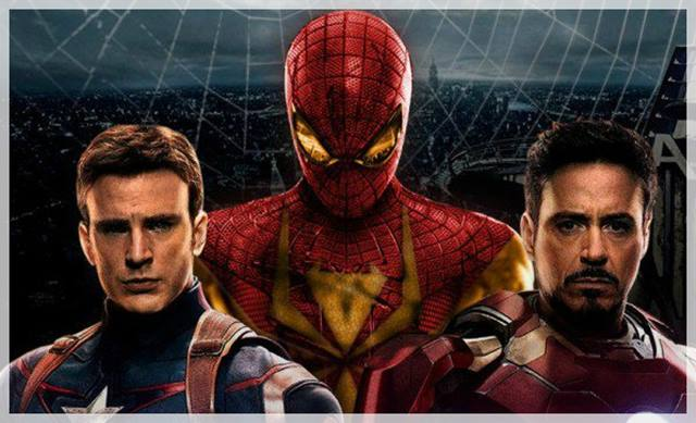 spiderman en capitán américa civil war