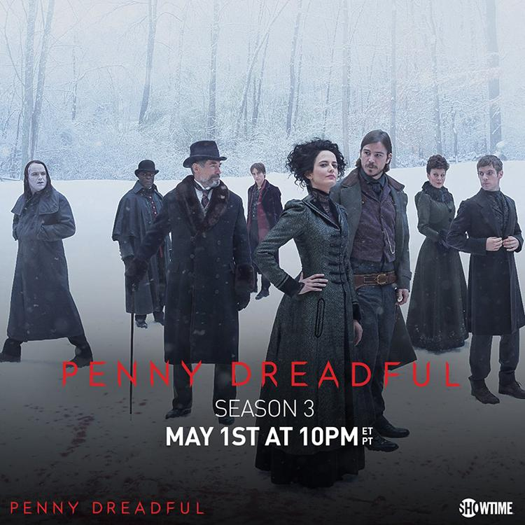 Trailer de la temporada 3 de Penny Dreadful - Poster temporada 3