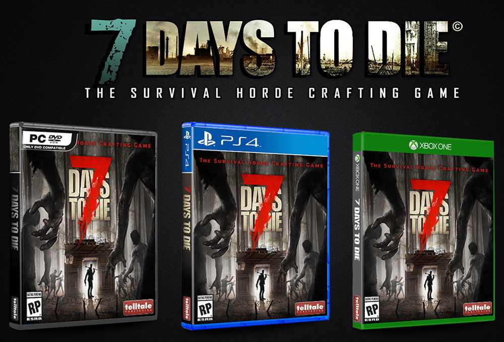 7 Days To Die Sale A La Venta El 28 De Junio Para Ps4 Y Xbox One