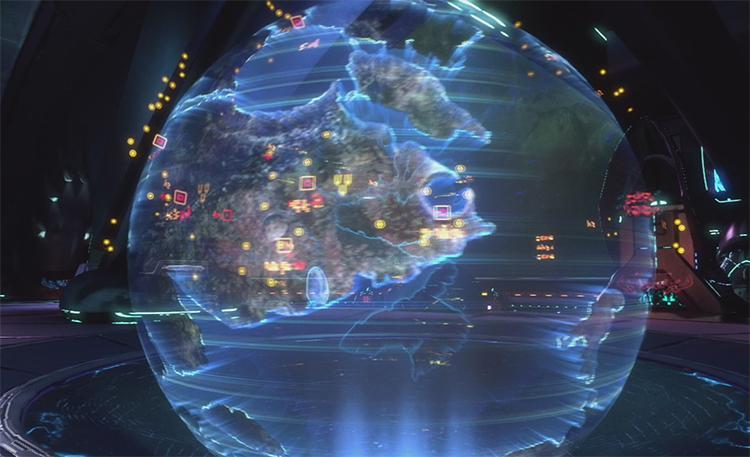 Científicos crean hologramas 3D de los átomos dentro de estructuras moleculares