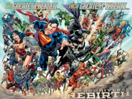 DC Universe Rebirth los Grandes héroes renacen