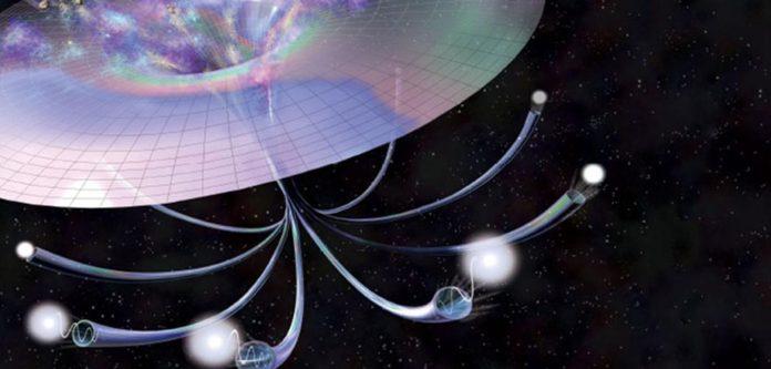 Explosiones de partículas podrían haber creado moléculas para calentar el planeta