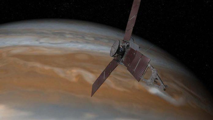 La nave espacial Juno cruza Júpiter, límite gravitacional del Sol
