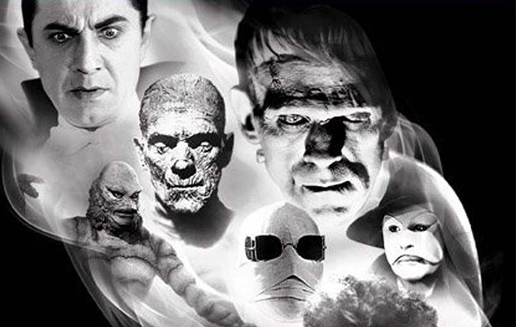 Películas de monstruos de la Universal hasta el 2019