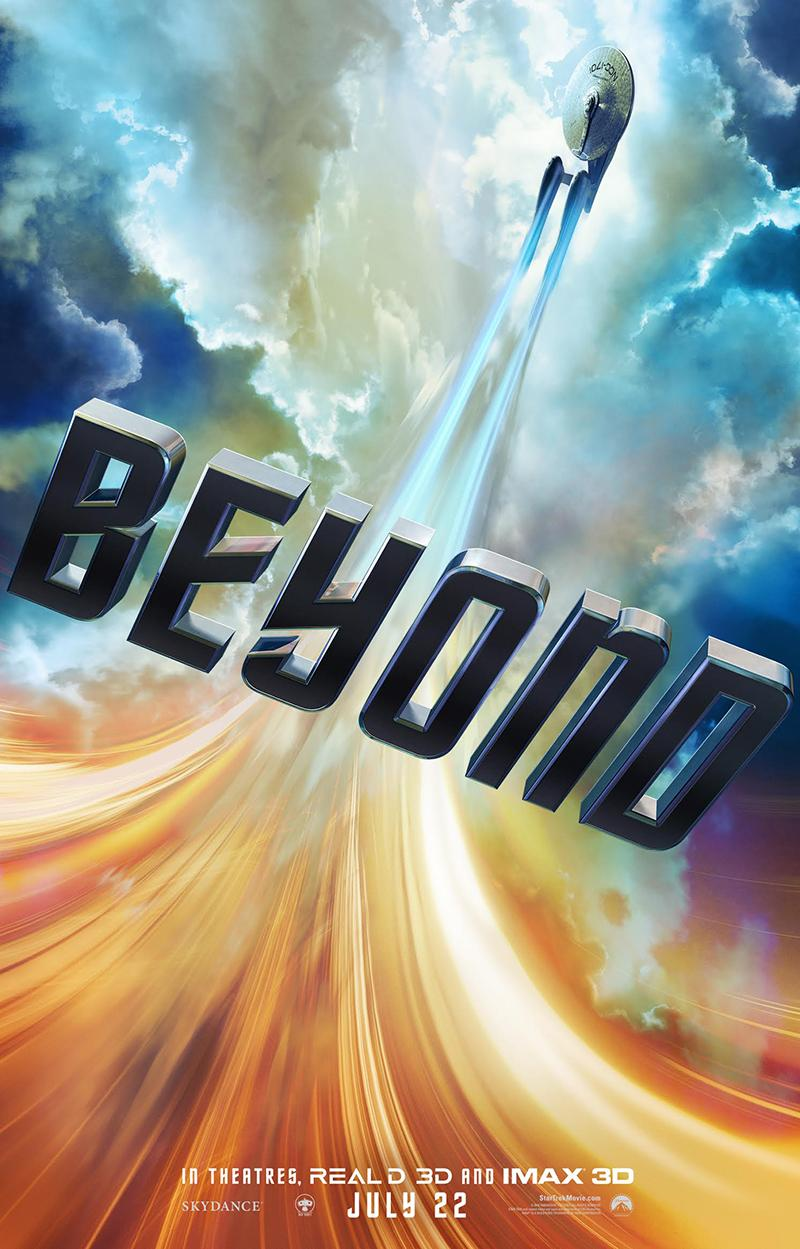 Star Trek Beyond trailer 2 la Enterprise bajo el fuego - Poster