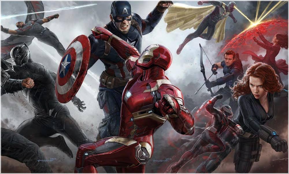 capitan america civil war es una de las películas recomendadas muy buenas