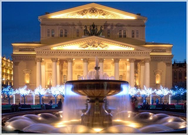 qué ver en moscú - El Teatro Bolshoi